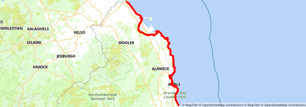 Wet Tropics Great Walk static map